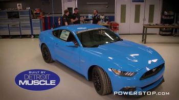 Powerstop Ultimate Ford Mustang Sweepstakes TV Spot, 'Ultimate Pony Car' - Thumbnail 3
