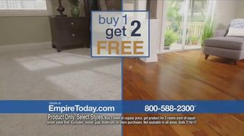 Empire Today Buy One Get Two Free Sale TV Spot, 'Save Big'