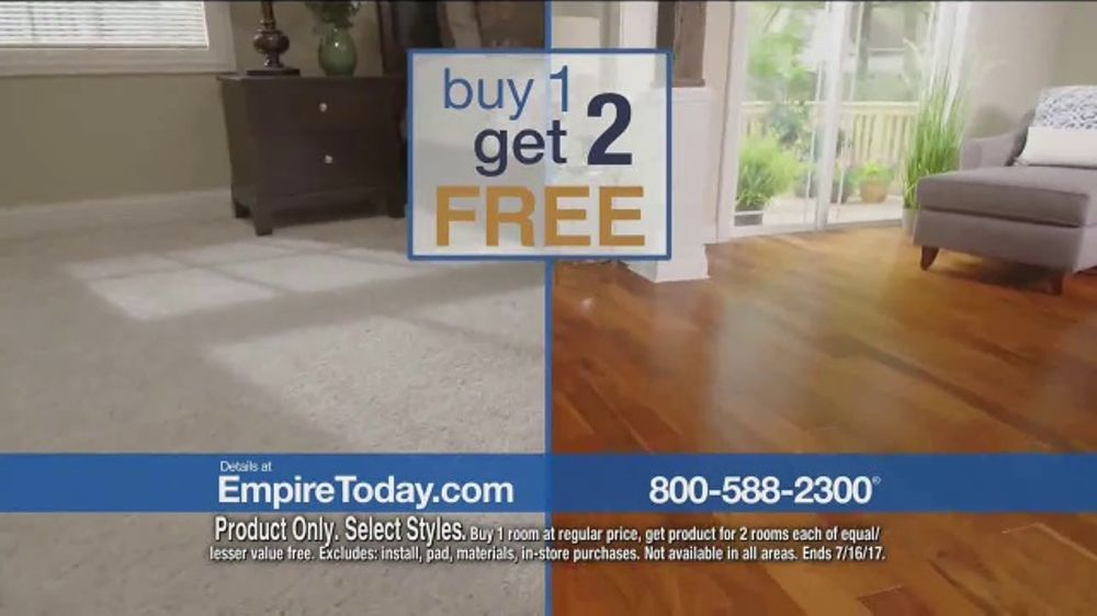 Empire Today Buy One Get Two Free Sale Tv Commercial Save Big