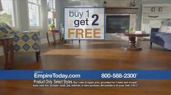 Empire Today Buy One Get Two Free Sale TV Spot, 'Save Big' - Thumbnail 1