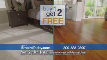 Empire Today Buy One Get Two Free Sale TV Spot, 'Save Big' - Thumbnail 3