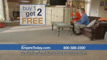 Empire Today Buy One Get Two Free Sale TV Spot, 'Save Big' - Thumbnail 6