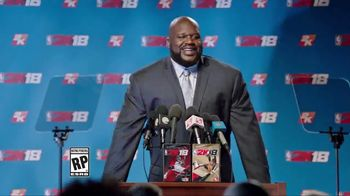 NBA 2K18 TV Spot, 'Press Conference' Feat. Shaquille O'Neal, Kobe Bryant - 20 commercial airings