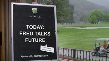 GolfBook TV Spot, 'Fred Talks the Future' - 148 commercial airings