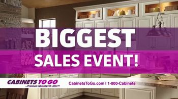 Cabinets To Go Biggest Sales Event TV Spot, 'Buy One Get One Free' - Thumbnail 1