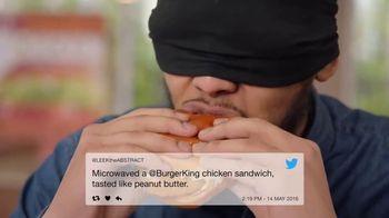 Burger King BBQ Bacon Crispy Chicken TV Spot, 'Very Tasty' - Thumbnail 1