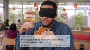 Burger King BBQ Bacon Crispy Chicken TV Spot, 'Very Tasty' - Thumbnail 2