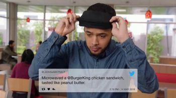 Burger King BBQ Bacon Crispy Chicken TV Spot, 'Very Tasty' - Thumbnail 3