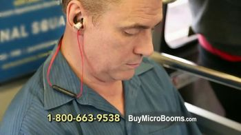 MicroBoom Earbuds TV Spot, 'Amazing Bluetooth Earbuds With Microphone!' - Thumbnail 5