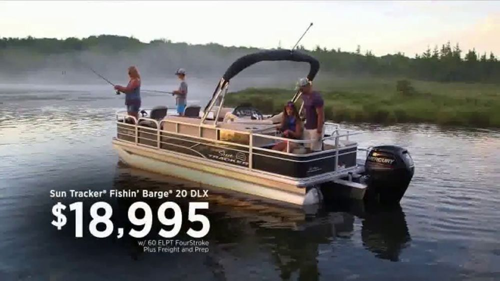 Bass Pro Shops Gone Fishing Event Tv Commercial Take Someone Fishing Barge Ispot Tv