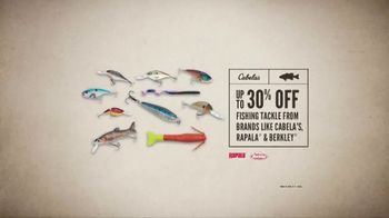Cabela's Father's Day Sale TV Spot, 'Fishing Tackle' - Thumbnail 6
