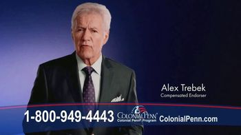 Colonial Penn Life Insurance TV Spot, 'A Perfect Fit' Featuring Alex Trebek - 29 commercial airings