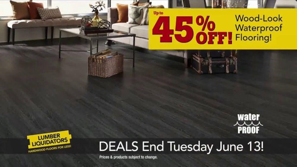 Lumber Liquidators Dream Home Coupon TV Commercial, 'Wood-Look Flooring and More'