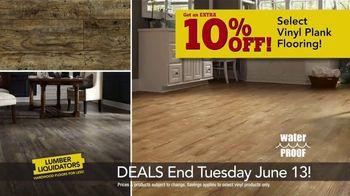 Lumber Liquidators Dream Home Coupon TV Spot, 'Wood-Look Flooring and More' - Thumbnail 3
