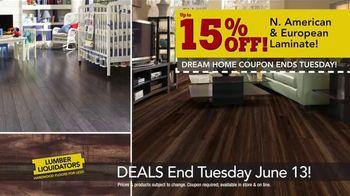 Lumber Liquidators Dream Home Coupon TV Spot, 'Wood-Look Flooring and More' - Thumbnail 4