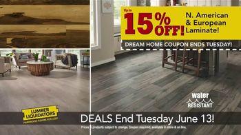 Lumber Liquidators Dream Home Coupon TV Spot, 'Wood-Look Flooring and More' - Thumbnail 5