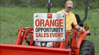 Kubota Orange Opportunity Sales Event TV Spot, 'L2501 Tractors' - Thumbnail 1