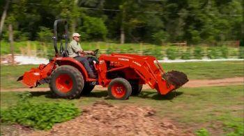 Kubota Orange Opportunity Sales Event TV Spot, 'L2501 Tractors' - Thumbnail 2
