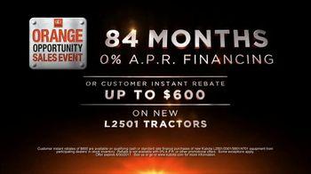 Kubota Orange Opportunity Sales Event TV Spot, 'L2501 Tractors' - Thumbnail 7