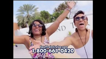 2018 Soul Train Cruise TV Spot, 'Love, Peace and Soul' - 51 commercial airings