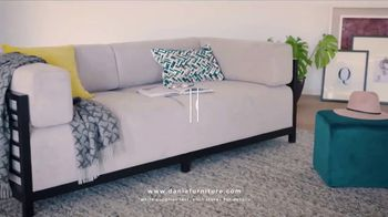 Dania Furniture Summer Clearance Sale TV Spot, 'Furniture and Accessories' - Thumbnail 5