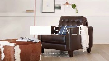 Dania Furniture Summer Clearance Sale TV Spot, 'Furniture and Accessories' - Thumbnail 6