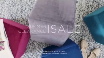 Dania Furniture Summer Clearance Sale TV Spot, 'Furniture and Accessories' - Thumbnail 7