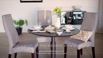 Dania Furniture Summer Clearance Sale TV Spot, 'Furniture and Accessories' - Thumbnail 8