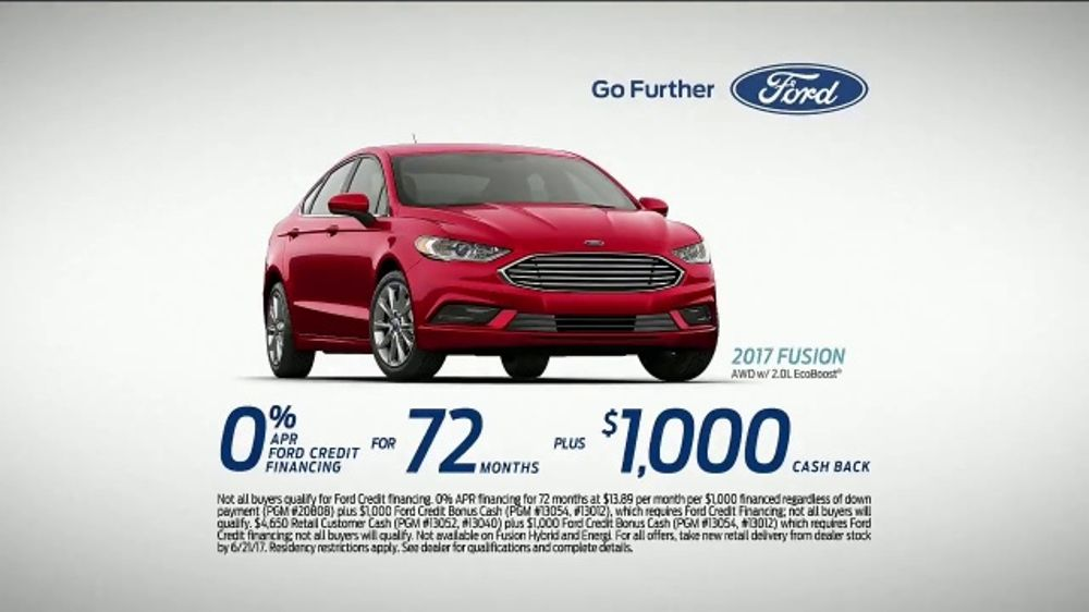 2017 Ford Fusion Tv Commercial First Time Drivers