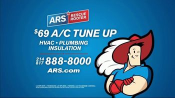 ARS Rescue Rooter A/C Tune Up TV Spot, 'Can't Handle the Heat' - Thumbnail 8