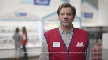 Lowe's TV Spot, 'Paint Rebate' - Thumbnail 4