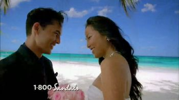 Sandals Resorts TV Spot, 'The World's Only 5-Star Luxury Honeymoon' - Thumbnail 3