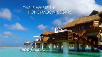 Sandals Resorts TV Spot, 'The World's Only 5-Star Luxury Honeymoon' - Thumbnail 4