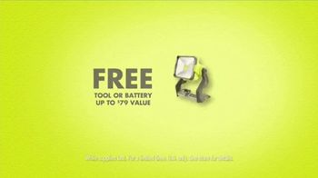 Ryobi Days TV Spot, 'Free Battery' - Thumbnail 9