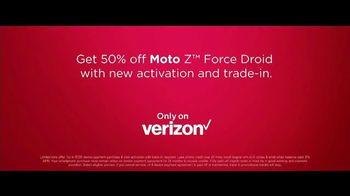 Motorola Moto Z Droid TV Spot, 'Hellomoto: Force Droid' - Thumbnail 8
