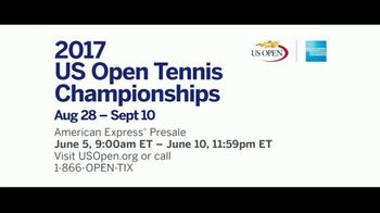 2017 US Open Tennis Championships TV Spot, 'Only in New York: Presale' - Thumbnail 7