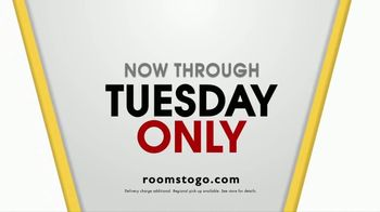 Rooms to Go Storewide Sofa Sale TV Spot, 'An Amazing Chance to Save' - Thumbnail 8