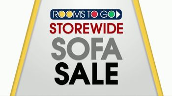 Rooms to Go Storewide Sofa Sale TV Spot, 'An Amazing Chance to Save' - Thumbnail 1