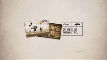 Cabela's Father's Day Sale TV Spot, 'Gift Card' - Thumbnail 4