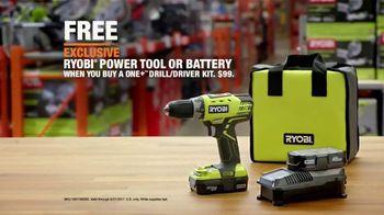 The Home Depot Father's Day Savings TV Spot, 'Toy Store: Ryobi' - Thumbnail 10