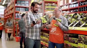 The Home Depot Father's Day Savings TV Spot, 'Toy Store: Ryobi' - 1526 commercial airings