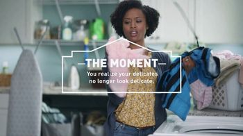 Lowe's TV Spot, 'The Moment: Delicate Laundry' - 13 commercial airings