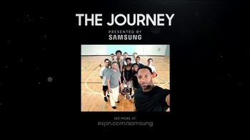 Samsung TV Spot, 'ESPN: The Journey: Giving Back' Featuring Tracy McGrady - Thumbnail 9
