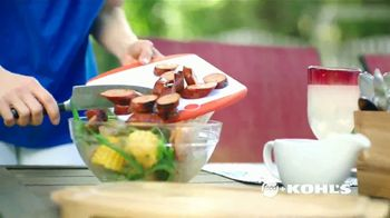 Kohl's TV Spot, 'Food Network: Putting Sizzle Into Summer' - Thumbnail 3