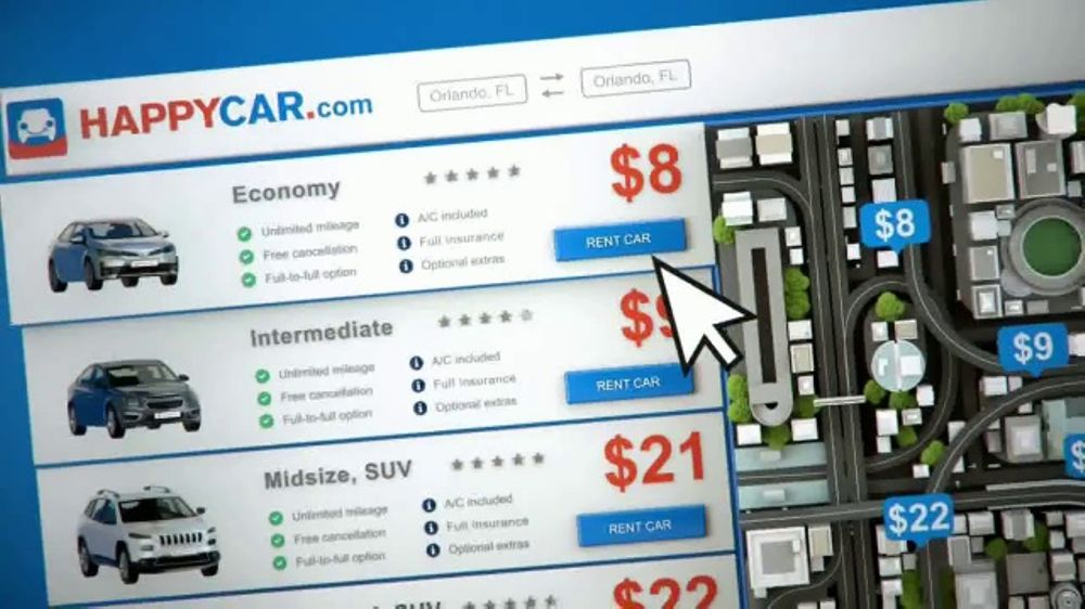 HAPPYCAR TV Commercial, 'Instantly Compare Prices'