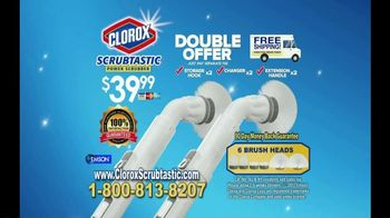 Clorox Scrubtastic Power Scrubber TV Spot, 'No Back-Breaking Scrubbing'