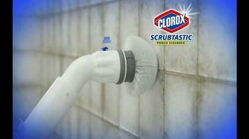 Clorox Scrubtastic Power Scrubber TV Spot, 'No Back-Breaking Scrubbing' - Thumbnail 2