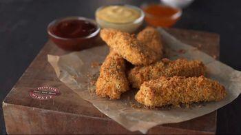Boston Market Oven Crisp Chicken Strips TV Spot, 'Hand-Breaded and Baked' - 1035 commercial airings