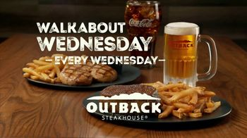Outback Steakhouse Walkabout Wednesday TV Spot, 'Sirloin or Chicken' - Thumbnail 5