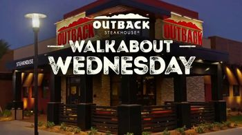 Outback Steakhouse Walkabout Wednesday TV Spot, 'Sirloin or Chicken' - Thumbnail 1